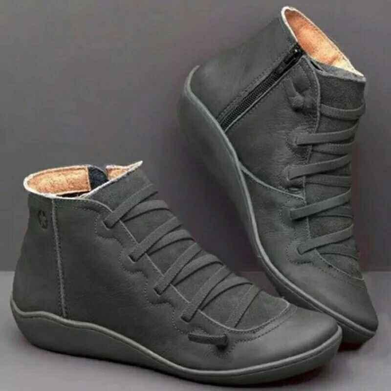 WENN IFOND Frauen Stiefel Versteckte Keil Plattform Schnee Stiefel Frau 5,5 cm Höhe Zunehmende Warme Plüsch Stiefeletten Frau zapatos mujer