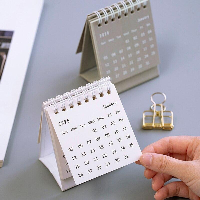 recem 2020 calendario de mesa dobravel flip 04