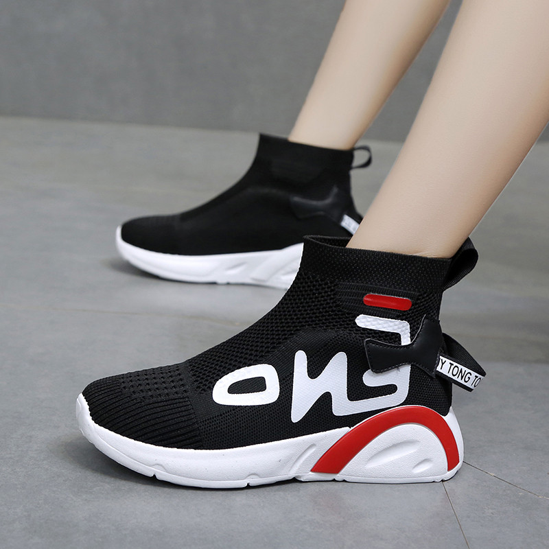 Hot Sneakers In Women's Vulcanize Shoes Women Fashion High Top Female Casual Shoes New Arrival Women's Shoes Martin Boots Canvas