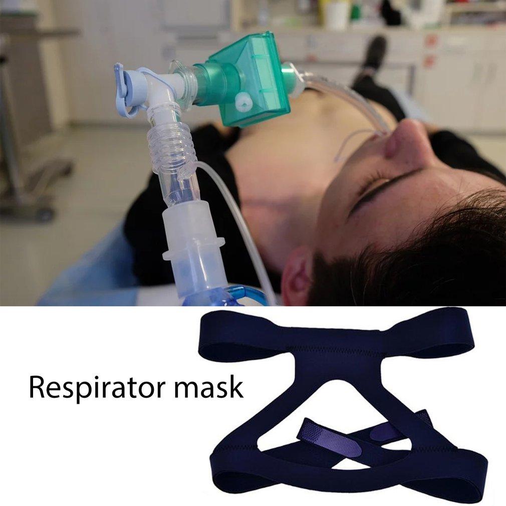 Ventilator Mask Replacement Headband  Imported Lycra Fabric Universal Headband Ventilator Accessories 1pcs