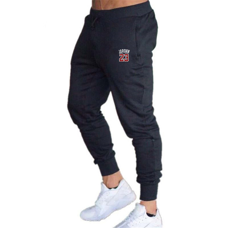 2020 Spring And Summer Men's Sports Running Pants Jogging Training Stretch Feet Sports Pants Gym Fitness Jogging Pants Casual Pa
