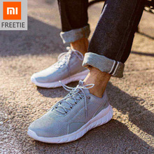 Original xiaomi FREETIE Sports Shoes Lightweight Ventilate Elastic Knitting Breathable Refreshing City Run Sneaker shoes