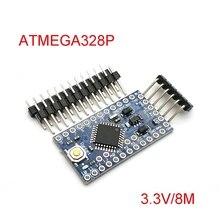 Avec le chargeur de démarrage Pro Mini ATMEGA328P 328 Mini ATMEGA328 3.3 V/8 MHz 5 V/16 MHz pour Arduino ATMEGA328P Module