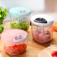 Multifunctional vegetable and fruit mincer, manual garlic press, meat grinder, chopper, high-quality food peeling and chopper