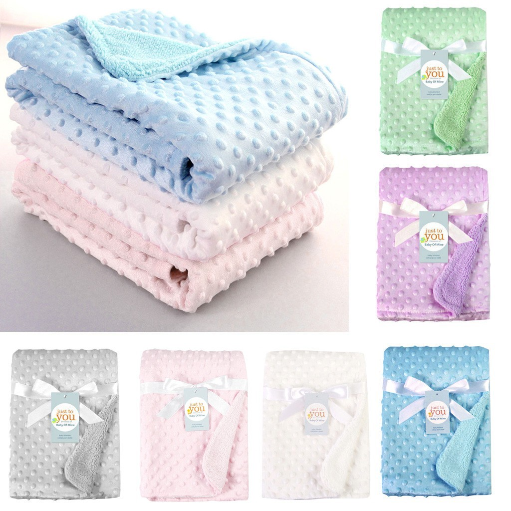 MUQGEW Knitted Baby Blanket Newborn Swaddle Wrap Soft Infant Toddler Sofa Bedding Quilt Sleeping Blankets Baby Outdoor Stroller