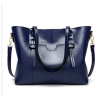 Goodinc Big Capacity Tote Bags Travel Dating Work Handlbags Fashional bolsos mujer Leather blue color Shoulder Bags Women