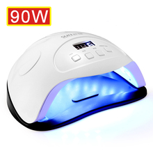 Uv-Lamp Uv-Gel-Nail-Polish Nail-Dryer Manicure Leds Quick-Curing for 90W with Motion-Sensing