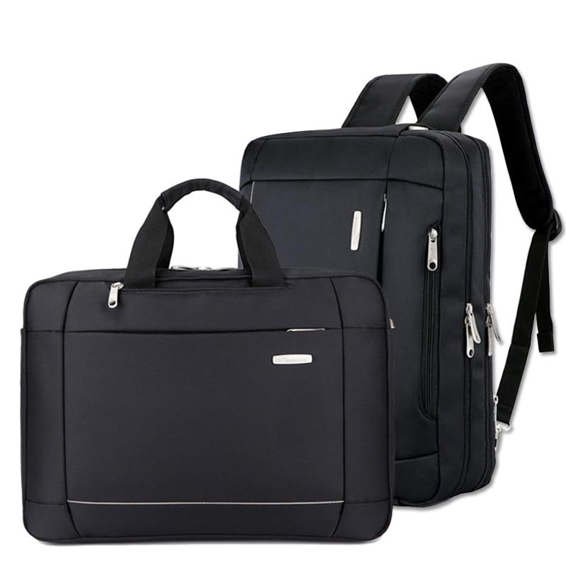 Fashion Business Men's Briefcase Brand Male Nylon Handbags Casual Laptop Bag MultiFunction Big Convertible Travel Bag XA268ZC