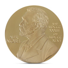 New Alfred Bernhard Nobel Gold Coin Collection Gift Souvenir Plated Coins Art Metal Bedge Drop Shipping