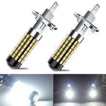 2X высокое качество 1200LM H1 H3 H27 880 881 светодиодные лампы для противотуманных фар автомобиля 12V LED DRL лампы для BMW E46 E39 E90 E60 E36 F30 F10 E30 E34 X5