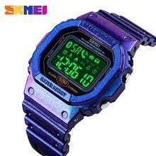 SKMEI 1629 Sport Digital Watches Men Waterproof Bluetooth Wr
