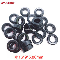 free shipping 500pieces for toyota fuel injector lower rubber seals oring 23291 23010,23291 41010 (AY S4007)