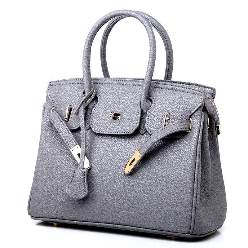 Bags For Women 2020 New Bag European And American Fashion Lychee Pattern Platinum Slant Straddle One Shoulder Handbag