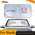 Для Mazda оконные оттенки лобовое стекло автомобиля солнцезащитный козырек крышка блок протектор для вождения  от солнца для Mazda MX5 Miata RX8 626 2020 ...