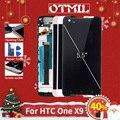 Otmil 5.5 Ips Voor Htc Een X9 Volledige Lcd-scherm Touch Panel Digitizer Monteren Met Frame Voor Htc Een x9 X9U Lcd Vervanging