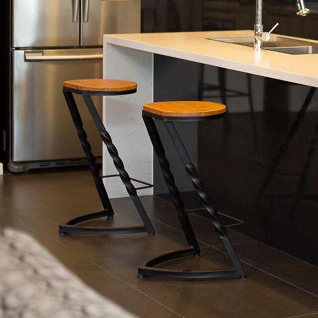 Iron Comfort Bar Stool 1