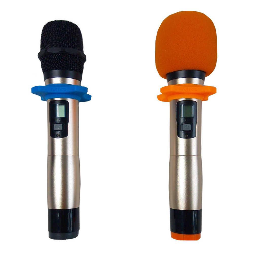 5 ชิ้น/เซ็ตป้องกันโฟม Ball Shape Outdoor Outdoor Windproof อุปกรณ์เสริมแบบพกพาไมโครโฟนฝาครอบ