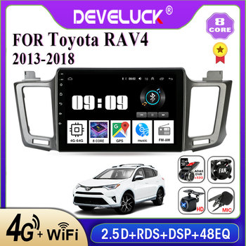 Android 9.0 2din Car Radio Multimedia video Player Navigation GPS IPS For Toyota RAV4 4 XA40 5 XA50 2012 - 2018 8 core No 2 din image
