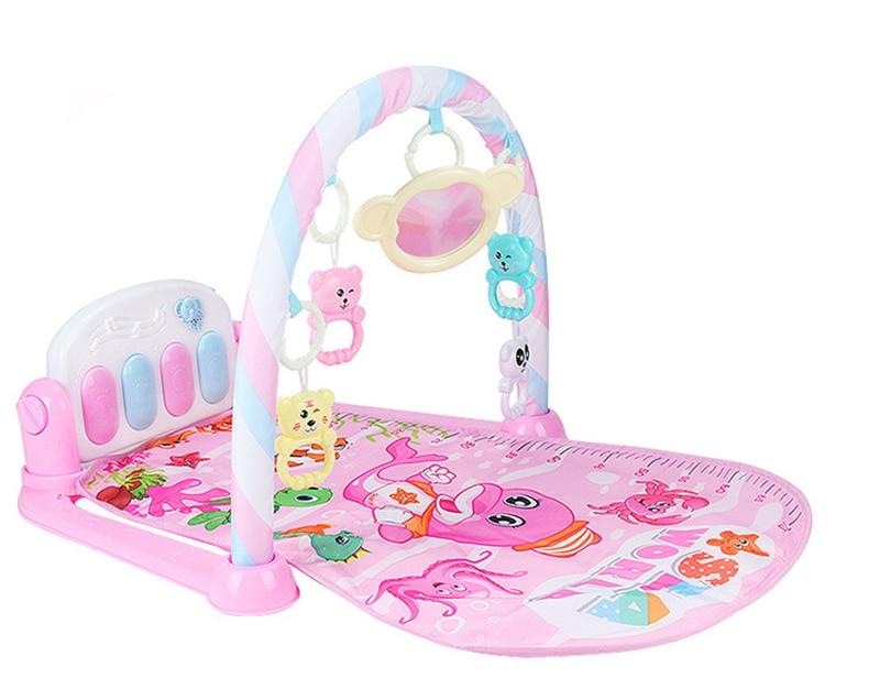 Música do bebê tapete de jogo almofada