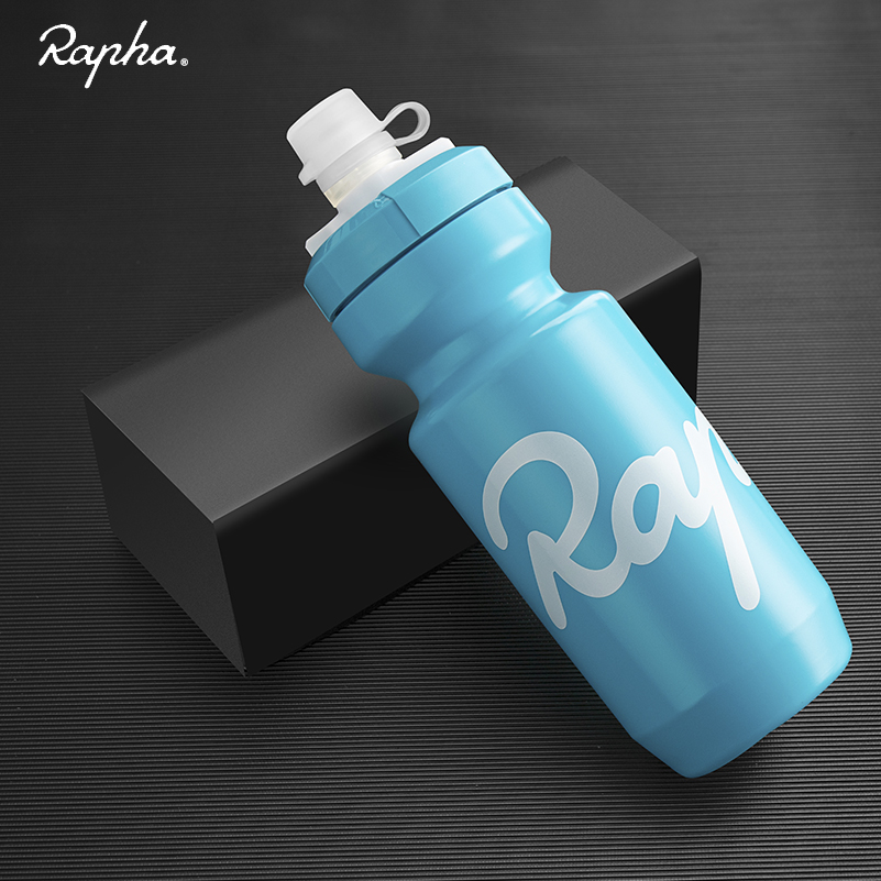 Rapha Bike Water Bottle 620ml Leak-proof Bottle Taste-free BPA-free Plastic Cycling Camping Hiking Sports Water Bottle Kettle