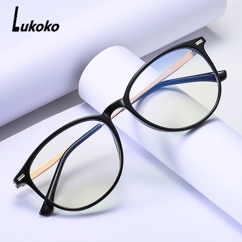 LUKOKO Anti Blue Light Radiation Glasses Computer Gaming Glasses Women Men Blocker Blocking Ray Goggles Lentes Para Computadora
