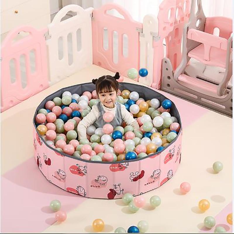 Складной сухой бассейн для младенцев, шариковый манеж для детей, бассейн для шаров, игровая площадка, игрушки для малышей, подарок для детей