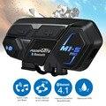Fodsports мотоциклетная bluetooth-гарнитура для 8 мотоциклистов M1S Pro  Водонепроницаемая беспроводная гарнитура intercomunicador для MP3