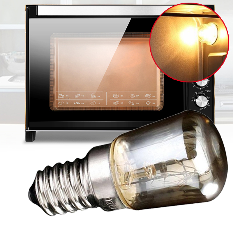 Oven Bulb High Tmperature 300 Degree T25 Bulbs E14 Light Cooker 25w Kitchen Lamps SES Home 240v