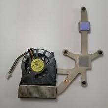 Новый оригинальный охлаждающий вентилятор для процессора ноутбука Dell Latitude XT2, радиатор, кулер, модуль вентилятора 23.1026.011 W963J K744H