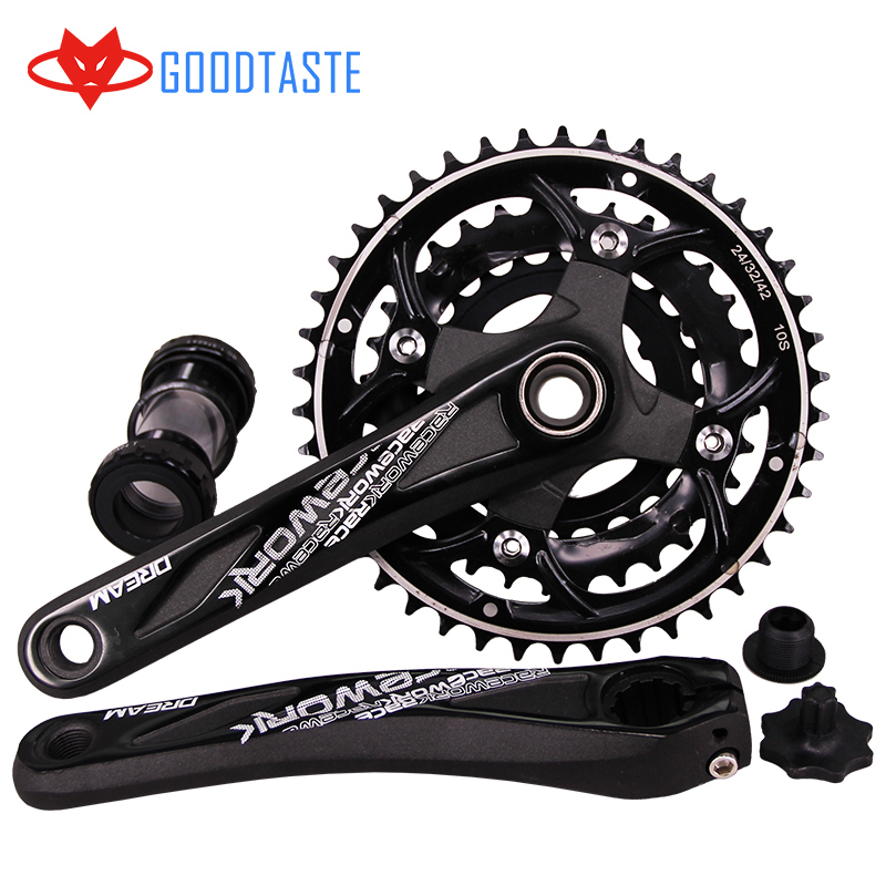 RACEWORK mtb bike parts crankset mtb mountain bike crankset crankset mtb carbono Carbon Steel 170 42T