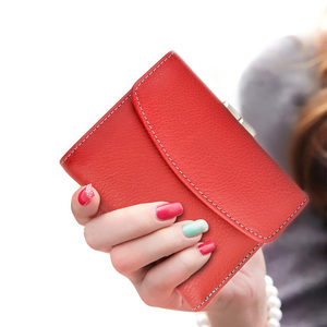 Image 3 - Beth Cat Fashion Short Genuine Leather Women Wallet New Female Small Wallet Money Bag Lady Mini Card Holder Coin Pocket Purses