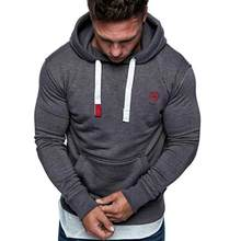 Jas Mannen Hoodies Coat Solid Borduren Truien Herfst Winter Warm Casual Lange Mouwen Tops Streetwear пальто мужское # F5(China)