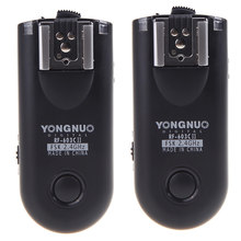 Yongnuo RF-603C II Wireless Remote Flash Trigger RF603c c1 c3 ii RF 603 2 Transceivers for canon 5dII 1D 6D 7D 50d 60d 500d 600d(China)