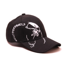 High Quality Unisex 100% Cotton Outdoor Baseball Cap Skull Embroidery Snapback Fashion Sports Hats For Men & Women Cap