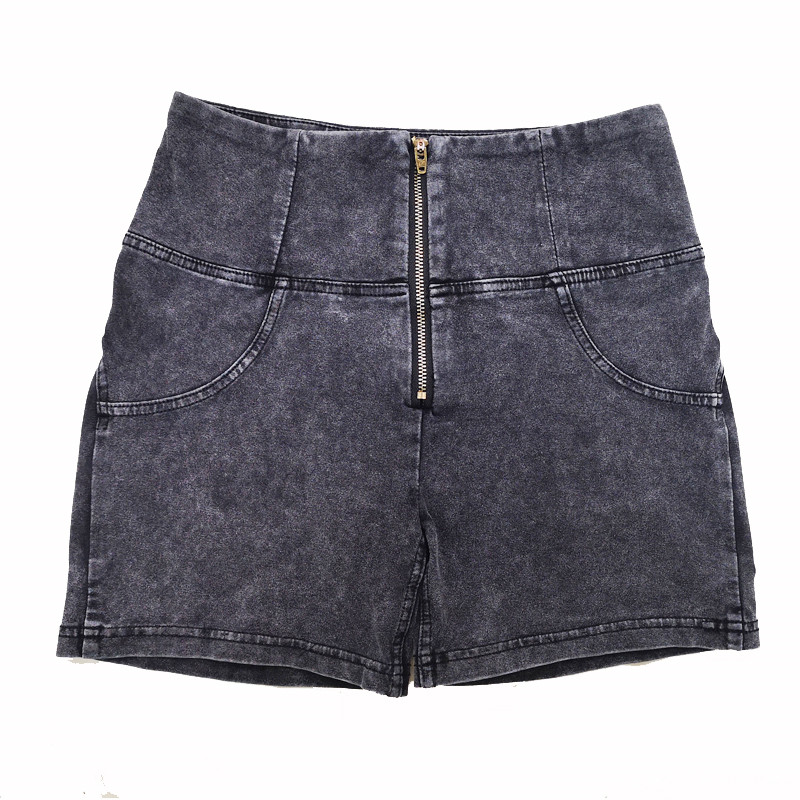Four Ways Stretchable Melody High Waisted Denim Shorts Women Grey Jeans Outfit Best Shapewear For Women Yoga Shorts