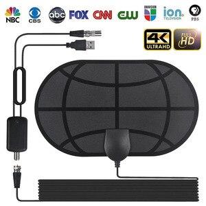980 Mile Range Antenna 4K Digital HDTV Indoor TV Antennas with Amplifier Signal Booster Active Indoor HD TV Radius Surf(China)