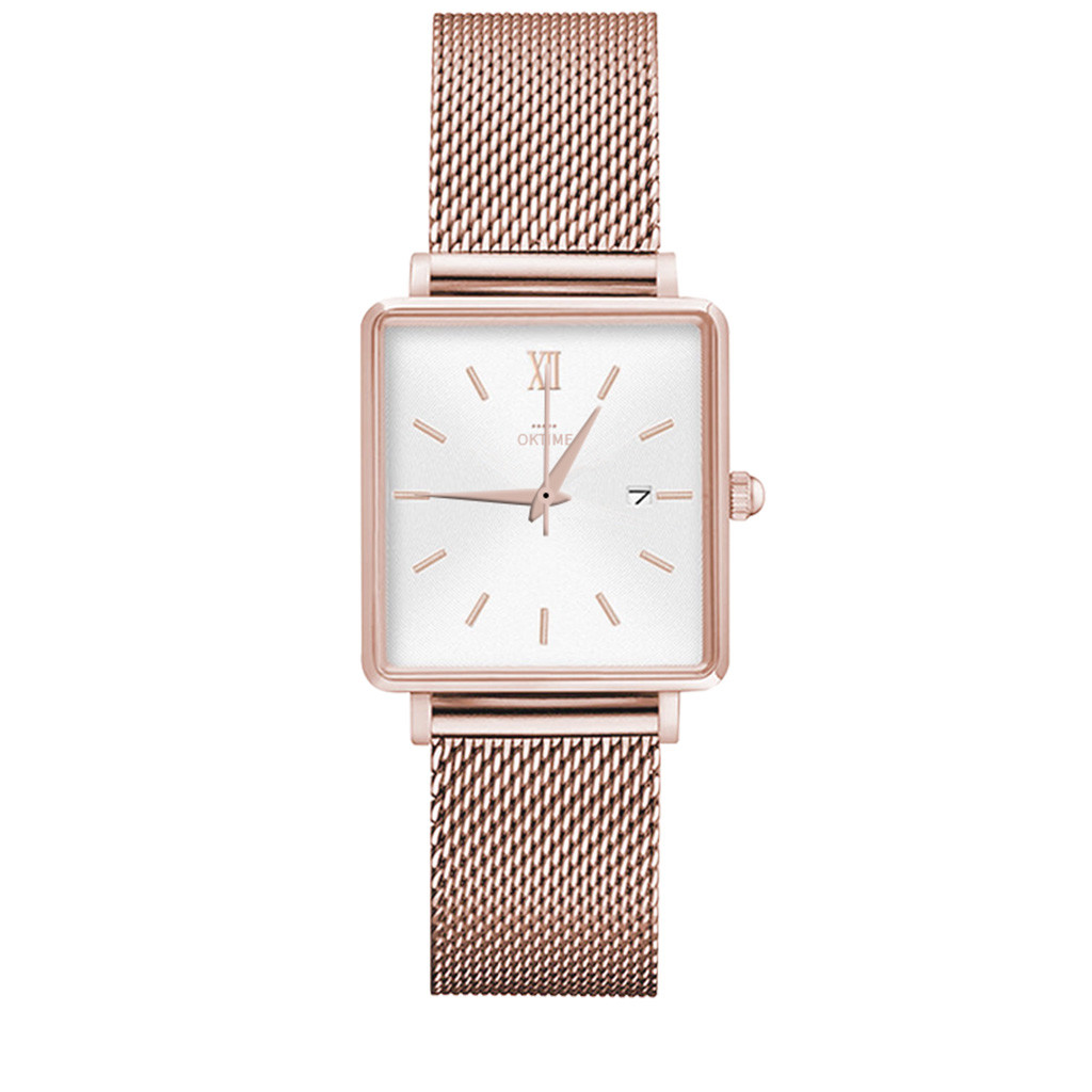 DUOBLA Women Watches Brand Luxury Waterproof Creative Ladies Watch Square Dial Gold Alloy Strap Quartz Elegant Watch Women 8z