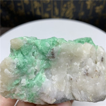 Rare about 360g rough natural emerald specimen reiki healing crystals raw gemstones for collection