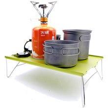 Table pliante, meuble de Camping, léger avec plaque en aluminium, mobilier d'extérieur, Barbecue, pique-nique, une seule Table