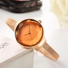 Cadisen Japan Quartz Horloge Hoge Kwaliteit Vrouwen Horloge Roestvrij Staal Mesh Rose Goud Waterdicht Dames Horloge Dropshipping