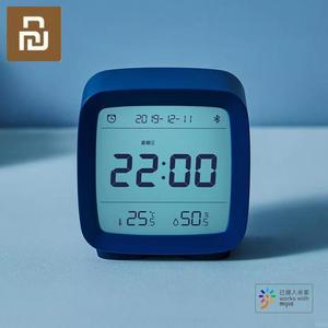 Image 5 - W magazynie Xiaomi Cleargrass Bluetooth budzik inteligentna kontrola temperatury wyświetlacz wilgotności ekran LCD regulowany Nightlight