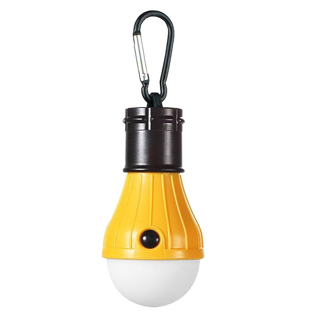 Mini Portable Lantern Tent Light 3LED Bulb Emergency Lamp Waterproof Hanging Hook Flashlight For Camping