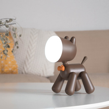 New for xiaomi USB rechargeable LED children's bedroom bedside lamp Variety dogs Student reading lamp Cartoon night light