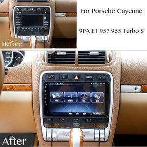 Car Multimedia Player NAVI Radio Stereo For Porsche Cayenne 9PA E1 957 955 Turbo S 8.4 inch Navigation CarPlay 360 BirdView