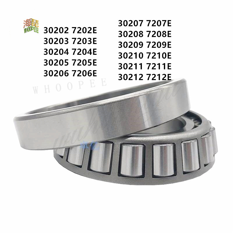 Free shipping high quality tapered roller bearings 30202 30203 30204 30205 30206 30207 30208 30209 3