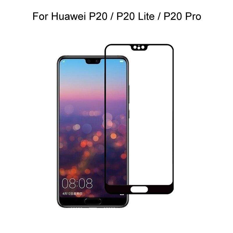 Verre de protection pour Huawei P20 Lite / P20 Pro protection d'écran pleine couverture verre trempé pour Huawei P20 Lite Pro