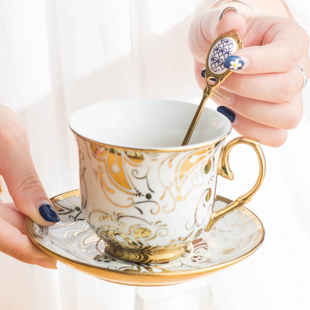 Фото высококачественная золотая кофейная ложка из нержавеющей стали цена