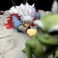 Figura de acción de Anime Na Jiraiya, estatua de juguete coleccionable de PVC de 9CM, modelo Pain Jiraiya Dead, regalo para niños
