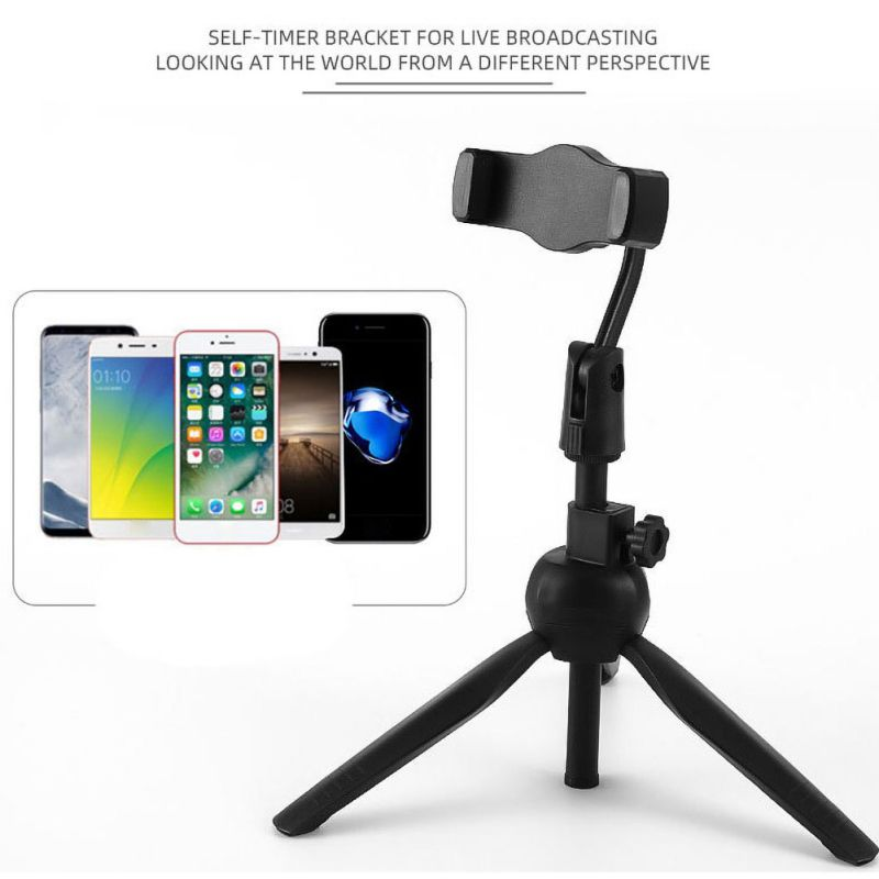 Best Universal Wireless Live Stand Bluetooth Selfie Stick Live Tripod Monopod for Gopro for iPhone Smartphone SLR Sport Camera image