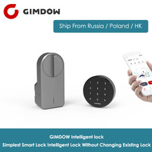 GIMDOW Smart Door Lock Digital Bluetooth Intelligent without changing existing Wireless App Control